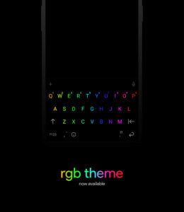 Chrroma keyboard for android