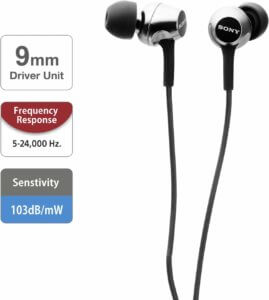 SONY MDR-EX150 Image